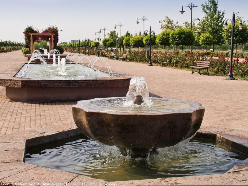 Grünanlagen, Wasserspiele Und Fontänen